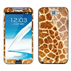XS Leopard Print Pattern Body Sticker for Samsung Galaxy Note 2 N7100