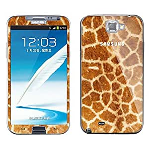 RayShop - Leopard Print Pattern Body Sticker for Samsung Galaxy Note 2 N7100