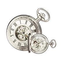 Charles Hubert Polished Brass Window Cover Pocket Watch