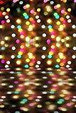 A.Monamour Bokeh Licht Scheinwerfer Spot Club-Bar Vinylgewebe Wandtapete Studio Fotohintergründe Vinyl