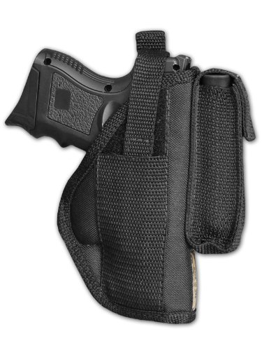 Barsony Gun Concealment Belt Holster With Magazine Pouch For Compact-Subcompact 9M 40 45