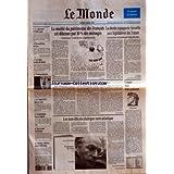 MONDE (LE) [No 15893] du 02/03/1996 - LE CALENDRIER D'ALAIN JUPPE - BERNARD PONS EN IRAN - LA CHINE ACHETE 40...