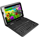 10 Inch USB Keyboard & Leather Case Pouch Cover Holder for 10 Inch Tablet MID Epad Pc