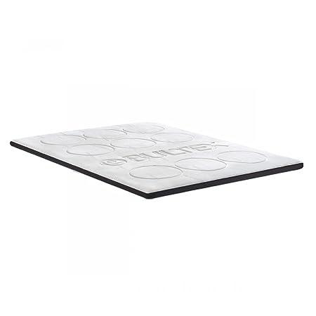 Bultex VAT1030BU Sur Matelas Memo 7 Confort à Mémoire de Forme Blanc 160 x 200 x 20 cm