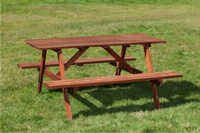 Clover Hardwood Picnic Table