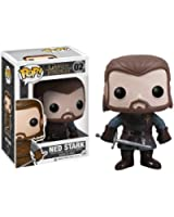 Funko - Bobugt002 - Figurine Cinéma - Game Of Thrones - Bobble Head Pop 02 Ned Stark!