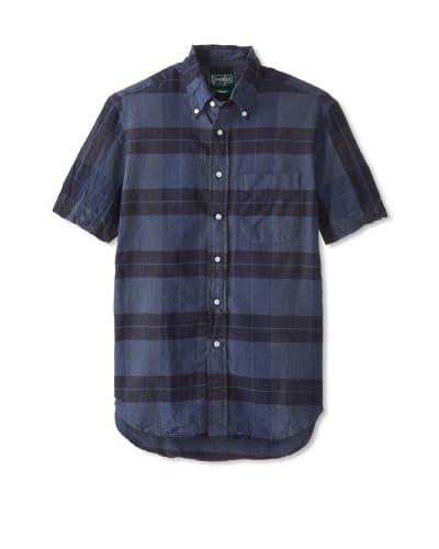 Gitman Vintage Men's Lightweight Plaid Button Down Shirt