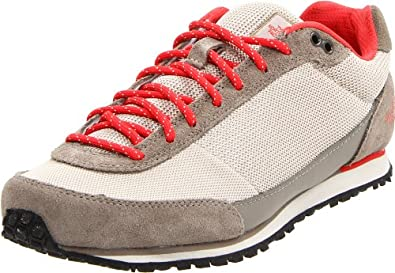 Buy The North Face Scend Shoe - Ladies Fossil Ivory Juicy Red, 7.0 by The North Face