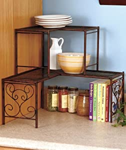 2 Tier Shelf - Bronze