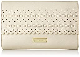 Anne Klein Let The Sunshine In Clutch, Golden Haze, One Size