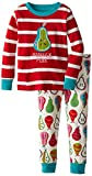 Hatley Little Girls' Pajama Set Applique Harvest Pears