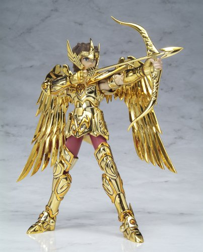 Gold Cloth Sagittarius Aiolos Action Figure