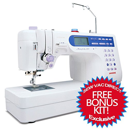 Janome Memory Craft 6500P / MC6500P Computerized Sewing Machine w/ FREE BONUS Package!