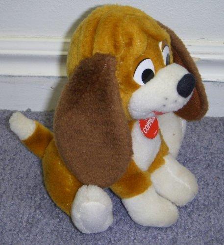 Rare Disney Fox and the Hound 6 Inch Plush Copper Dog Doll - 1
