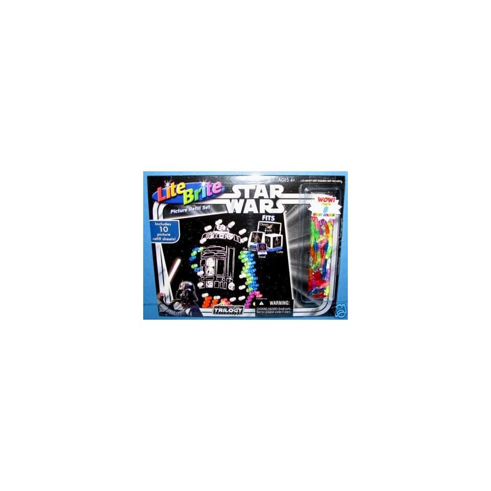Lite Brite Star Wars Picture Refill Set