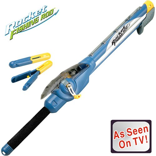 Fishing activity fogosports rocketrod the as seen on tv for Rocket fishing rod video