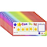 I Can Do It! Reward Chart Token Board Classroom Pack (10) New!