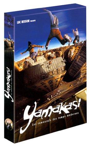 photo du DVD de yamakasi à ajouter à vos listes de cadeaux easyprezzy