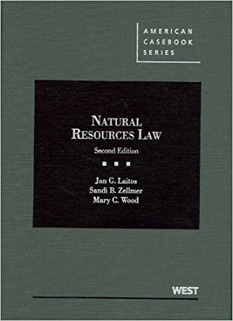 Natural Resources Law (American Casebook Series)
