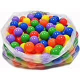 200 Wonder Playball Non-Toxic Non-Recycled Crush Proof Quality Phthalates and BPA Free, 6 Colors
