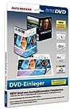 Data Becker DVD-Einleger ohne Perforation, hochglänzend - Etiquetas de impresora (hochglänzend, 273x183 mm, Papel, Inyección de tinta)