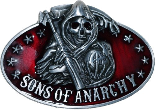 Sons Of Anarchy Belt Buckle (New Style) by UCS