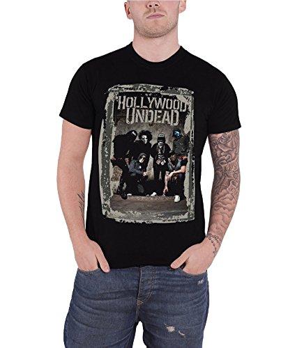 Hollywood Undead - Top - Maniche corte  - Uomo nero Large