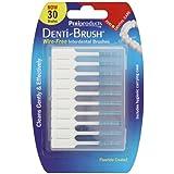 Denti-brush Lot de 2paquets de 30brosses interdentaires sans fil