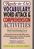 img - for Ready-To-Use Vocabulary, Word Analysis & Comprehension Activities: Sixth Grade Reading Level (Reading Skills Activities Library) book / textbook / text book