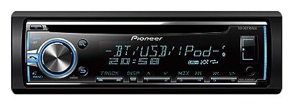 Pioneer DEH-X 5800 BT Autoradios Bluetooth, En Façade