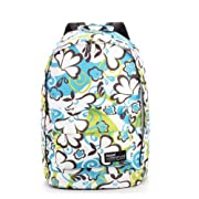 Icon Women Travel Backpack School Backpacks for Girls Cute Bookbags (Blue&Green)