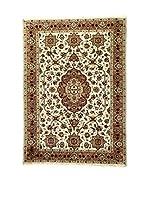 L'Eden del Tappeto Alfombra Kashmirian F/Seta Crudo / Marrón 236  x  169 cm