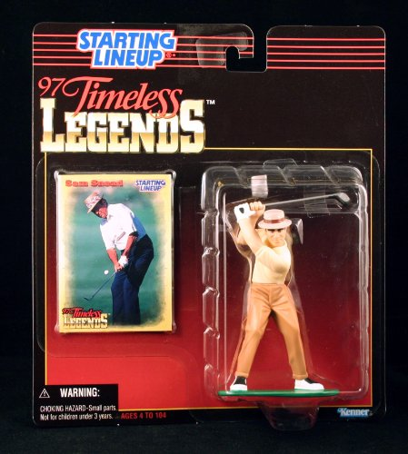 SAM SNEAD / PGA 1997 TIMELESS LEGENDS Kenner Starting Lineup & Exclusive Collector Trading Card