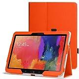 WAWO Samsung Galaxy Tab PRO 10.1 inch Tablet Smart Cover Folio Case - Orange
