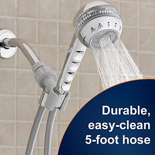 how to clean waterpik shower massage
