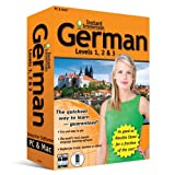 Book Cover For Instant Immersion German Levels 1, 2 & 3