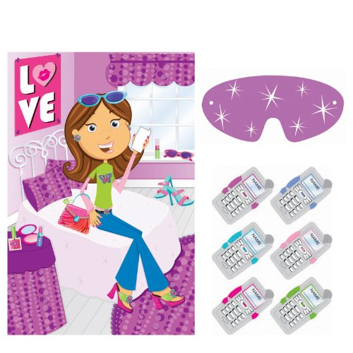 Glitzy Girl Party Game - Each