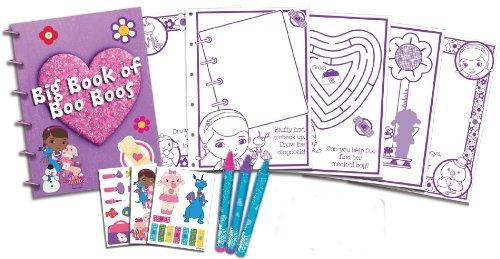 Disney Doc McStuffins Big Book of Boo Boos Stick N' Color Activity Set