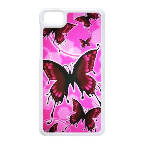 Generic Cell Phone Cases Cover For Black Berry Z10 Case Fashionable Art Designed With Beautiful Butterfly - K Personalized Shell front-1063852
