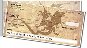 Chinese Dragon Side Tear Personal Checks