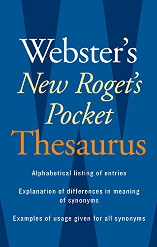 Webster's New Roget's Pocket Thesaurus
