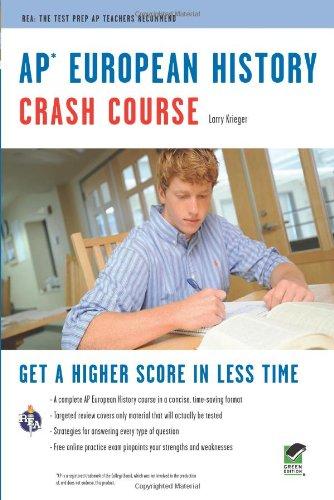 Ap® European History Crash Course Book + Online (Advanced Placement (Ap) Crash Course)