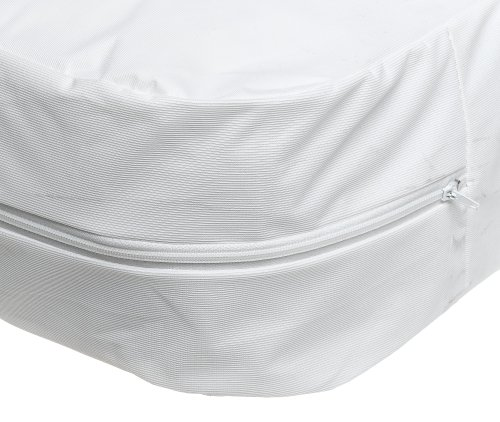 "Duro Med Mattress Cover Plastic Nylon Zippered Twin 39"" x"