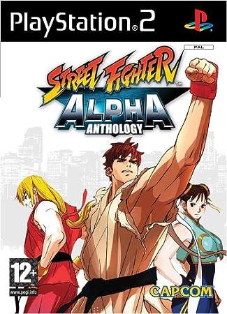 Street Fighter Alpha Anthology (PS2)