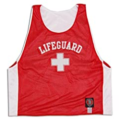 Lifeguard Lacrosse Pinnie Sublimated Reversible