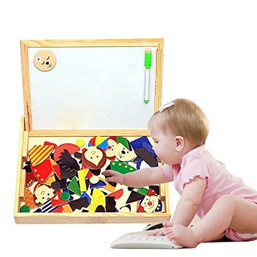 Eonkoo Cute Cartoon Figure Baby Educational building block Puzzle Toys