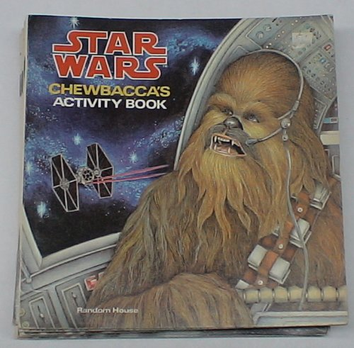 STAR WARS 1978 CHEWBACCA ACTIVITY BOOK - 1