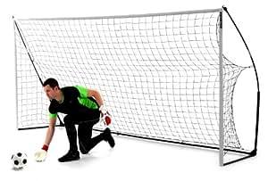 Kickster Academy But de football portable Jaune 365 x 182 cm