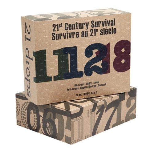 21 Drops - 25 21St Century Survival Aromatherapy Essential Oil Trio - 8.5 Ml Each
