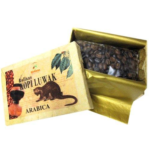世界一高い幻のコーヒー!!『コピ・ルアック アラビカ種』 100g スペシャルギフトボックス入り(細挽き)